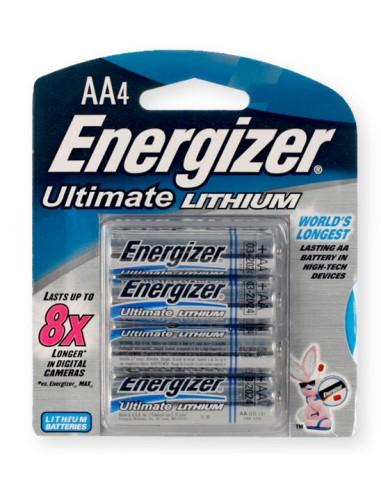 Energizer Lithium Batteries 4 AA
