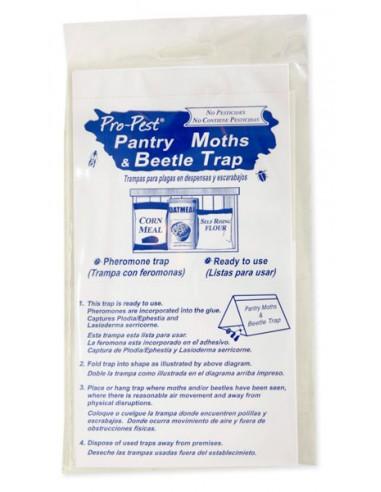 Pro-Pest Pantry Moths & Beetle Trap - 2 pack