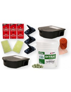 Roof Norway Rat House Mouse Control Kit