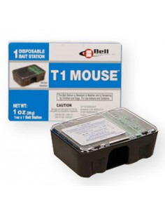 Bell T1 Disposable Mouse Bait Station