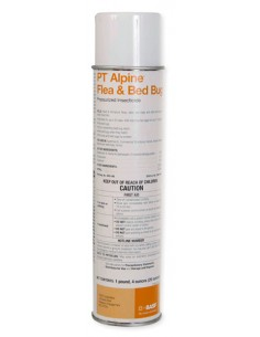 PT Alpine Flea and Bed Bug Pressurized Insecticide
