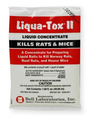Bell Liqua-Tox Liquid Rat & Mouse Bait Concentrate