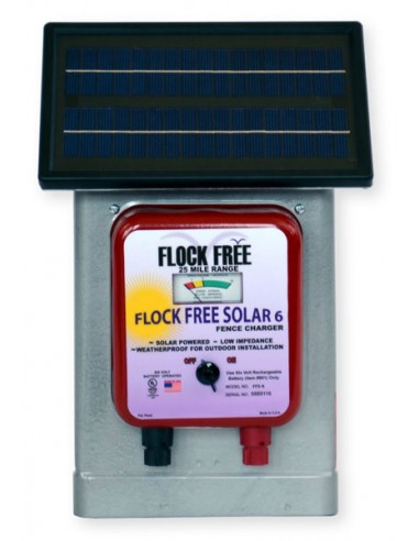 Flock Free Solar Charger