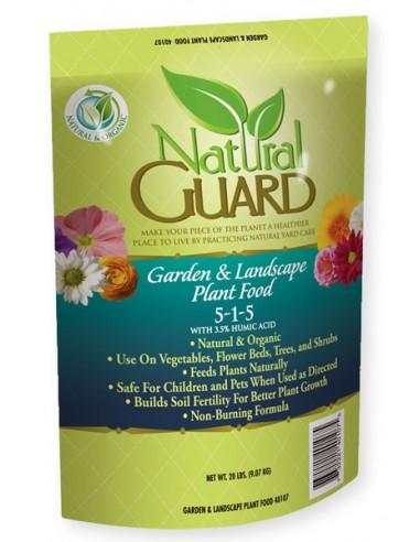 Natural Guard Garden & Landscape Plant Food