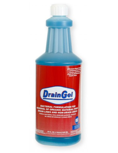 DrainGel - Professional Strength Bacterial Drain Treatment