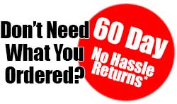 60 Day Returns